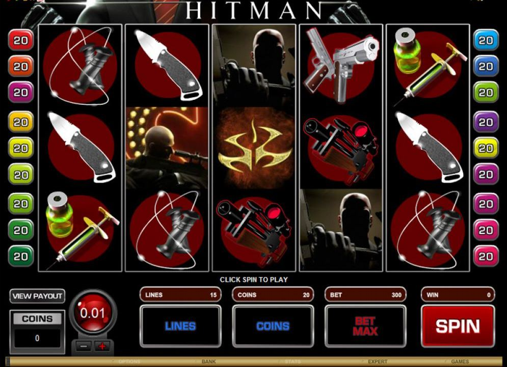 Tragamonedas Hitman – reseña escrita por aleksandar90
